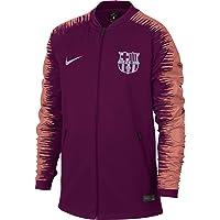 Nike 2018-2019 Barcelona Anthem Jacket (Deep Maroon) - Kids