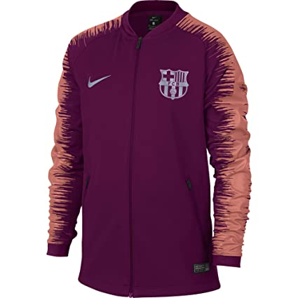 105ff1b11 Amazon.com  Nike 2018-2019 Barcelona Anthem Jacket (Deep Maroon ...