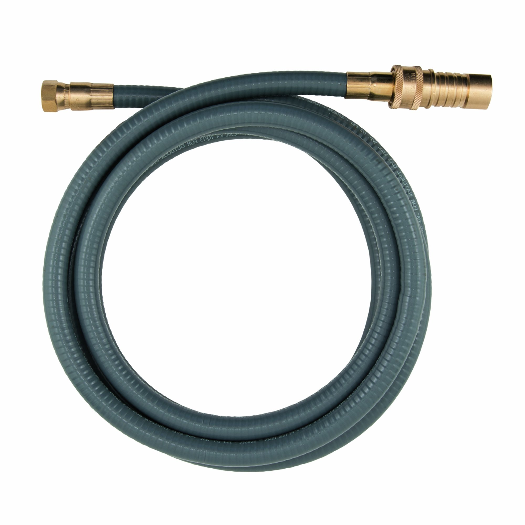 Dormont 30D-10QD Portable Outdoor Gas Connector, 1/2 In. x 10 Ft. Long