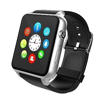 Smartwatch, STOGA Reloj Inteligente Android con Ranura para Tarjeta SIM, Pulsera Actividad Inteligente para Deporte, Reloj Iinteligente, Reloj de ...