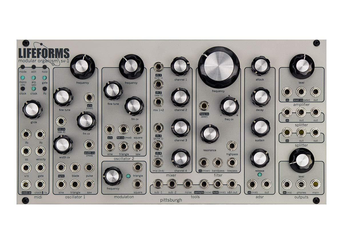 Pittsburgh Modular Lifeforms SV-1 dual Oscillator Modular Synthesizer Voice by Pittsburgh Modular