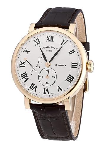 Eberhard & Co – Reloj de pulsera hombre 8 Jours grande Taille 18 kt. Oro