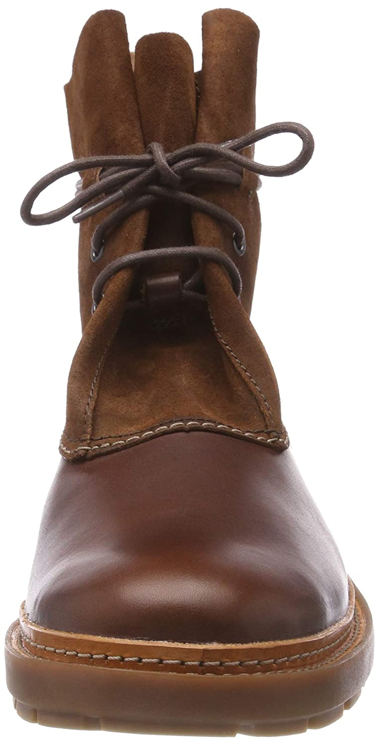 Clarks Boots, Herren Trace Dusk Chelsea Boots, Clarks Braun (Mahogany Leather) 0aea3f