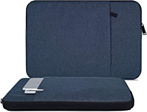 17.3 Inch Laptop Sleeve Case for Lenovo IdeaPad 330,Acer Aspire 5 7 17.3/Acer Aspire E 17/Acer Predator Helios, Dell Inspiron 17 7000 5000 3000/Dell G3 G7, HP 17.3 Laptop/HP Pavilion 17(Blue)