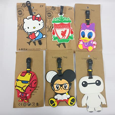 Shopkooky Birthday Gift For Kidsboysgirls Cute And Attractive Hello Kitty Luggage Tags Return Gift Birthday Gifts Online Pack Of 6