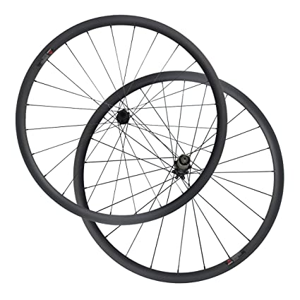 e1a6df456 LOLTRA D411SB-CL D412SB-CL Center Lock Hub 30mm Clincher 25mm Width  Cyclocross Carbon