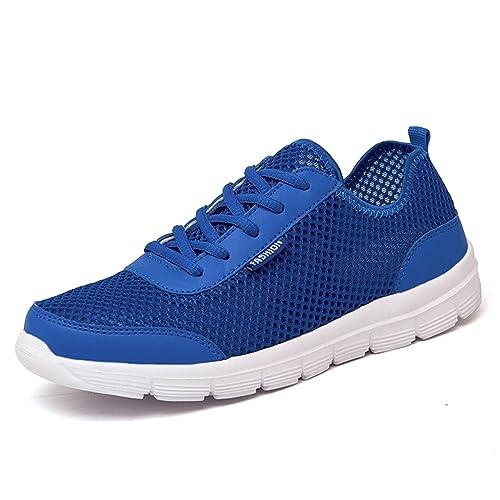Amazon.com: Hombres zapatos verano malla macho zapatos ...