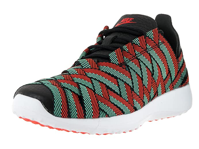 Nike Women's Juvenate Woven PRM Black/Brght Crmsn Hypr Trq Wht Casual Shoe  10 Women