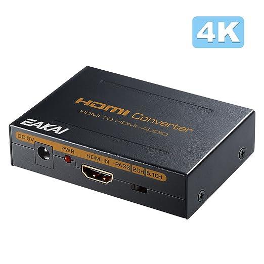 3 opinioni per HDMI Digitale Audio Estrattore Splitter , EAKAI 4K x 2K HDMI al ottico Toslink