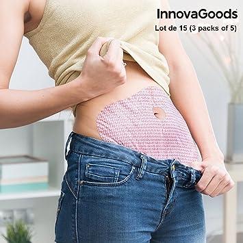 Parches amincissants innovagoods Pack de 5 - 3 packs - 15: Amazon.es: Salud y cuidado personal