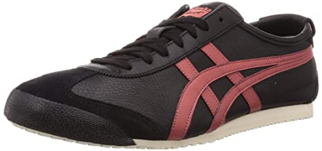 onitsuka tiger mexico 66 black burnt red brown