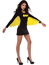 9f00b0132239 Rubies Costume Women's DC Superheroes Batgirl Wing Dress
