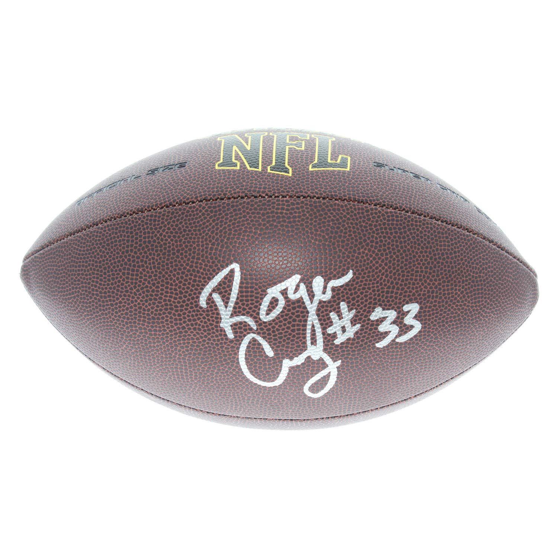 Roger Craig San Francisco 49ers Autographed Signed Wilson NFL Super Grip Football - JSA Authentic