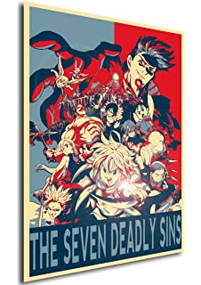 Instabuy Poster Propaganda Composition - Seven Deadly Sins ...