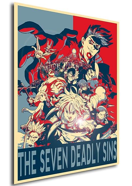 Instabuy Poster Propaganda - Seven Deadly Sins Personajes D ...