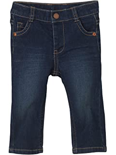 b0acc35ad Vertbaudet Narrow Fit- Boys' Slim Cut Jeans: Amazon.co.uk: Clothing