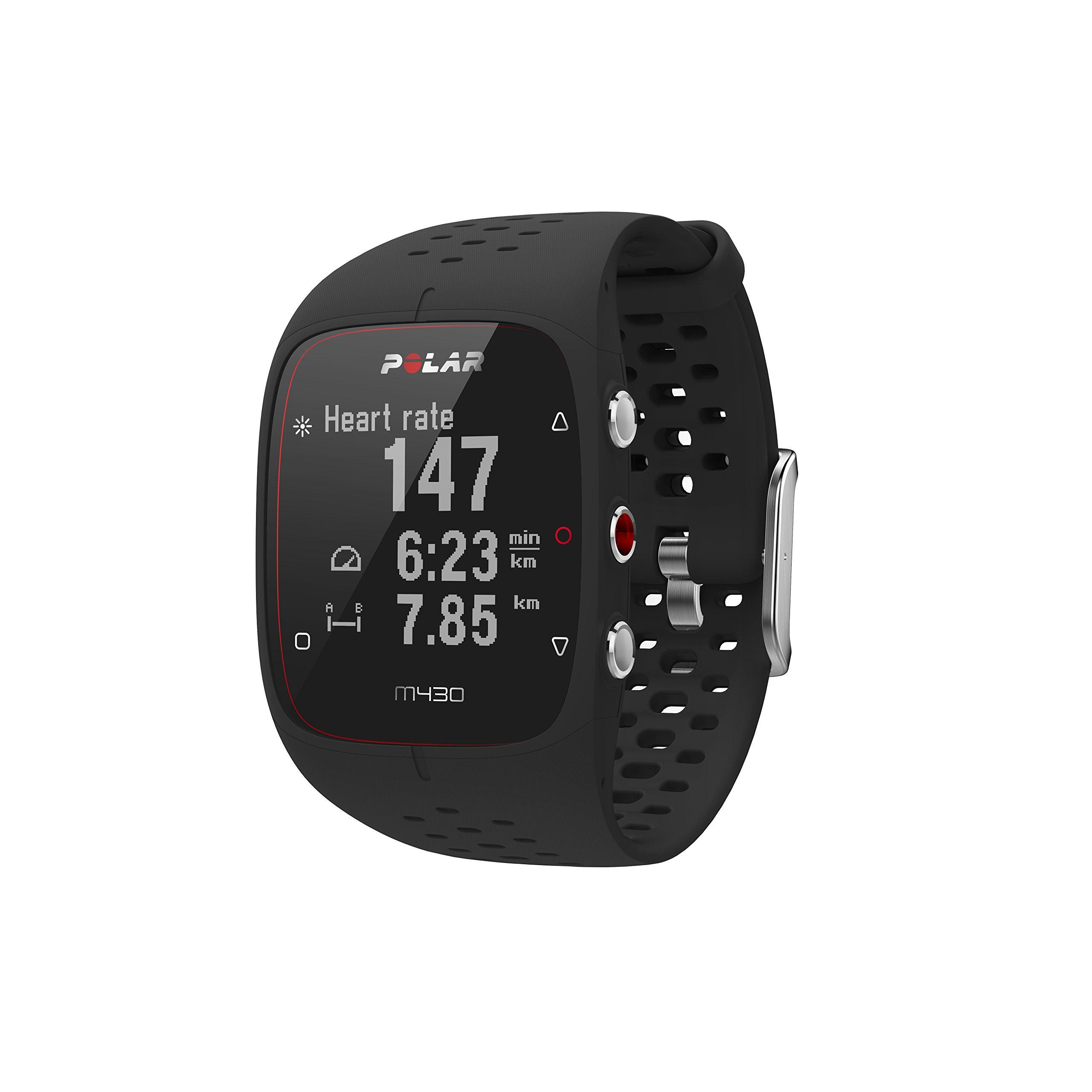 Polar M430 GPS Running Watch, Black by Polar