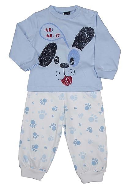 Girandola - Pijama entero - Manga Larga - para bebé niño Azul De Luz Azul 98