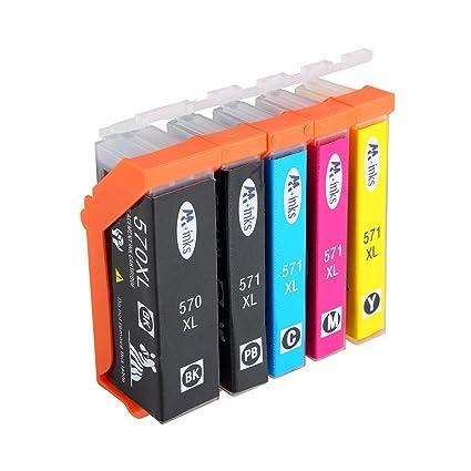 AA+inks compatible Canon pgi-570 XL cli-571 XL Cartuchos de ...