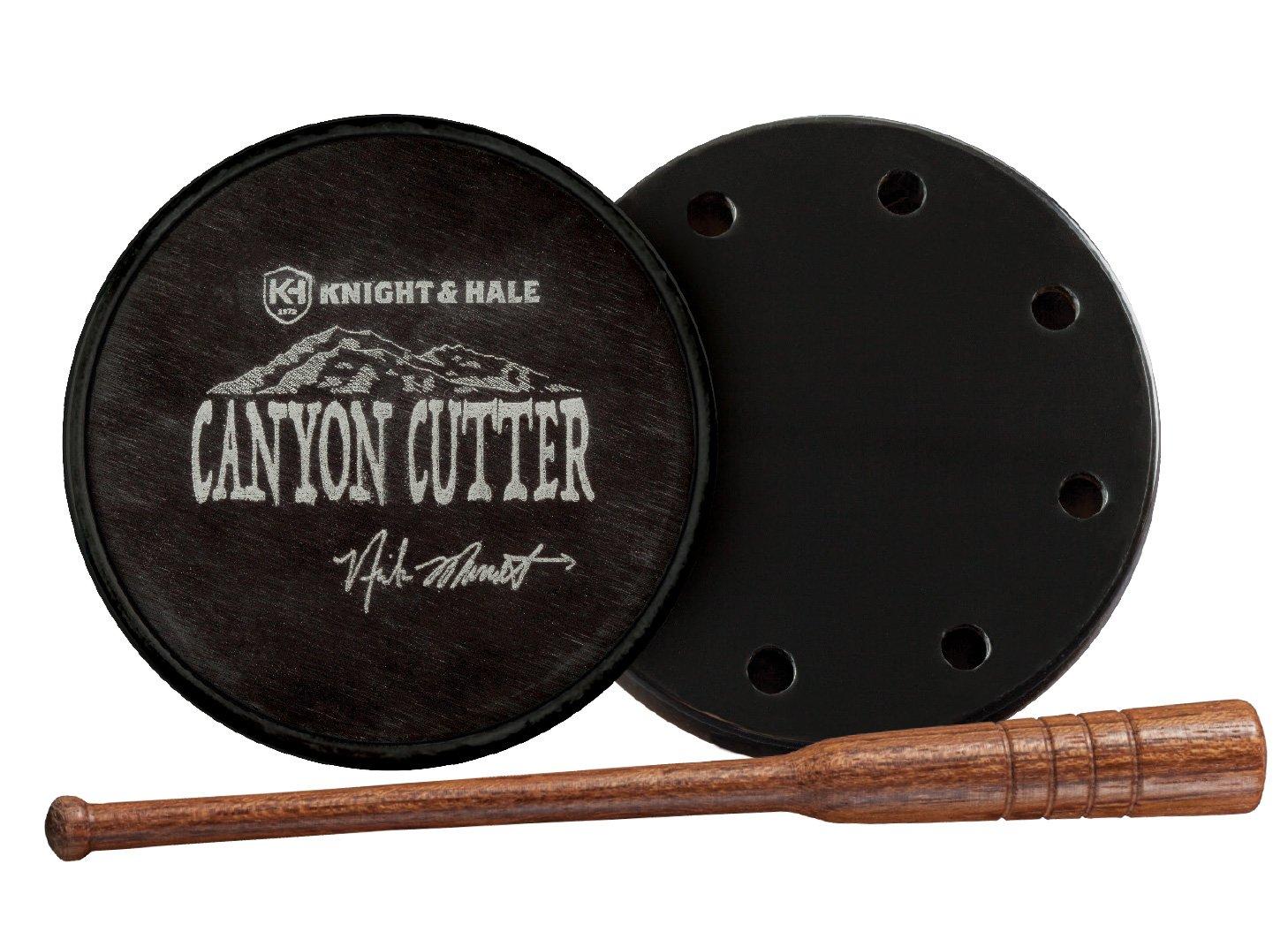 Knight & Hale Bone Collector Canyon Cutter Aluminum Over Acrylic Turkey Pot Call