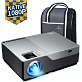 "VANKYO Performance V600 Native 1080P LED Projector, 4000 Lux Dual HDMI Projector with 300"" Display Widescreen for Education & Business Presentation in Power Point"