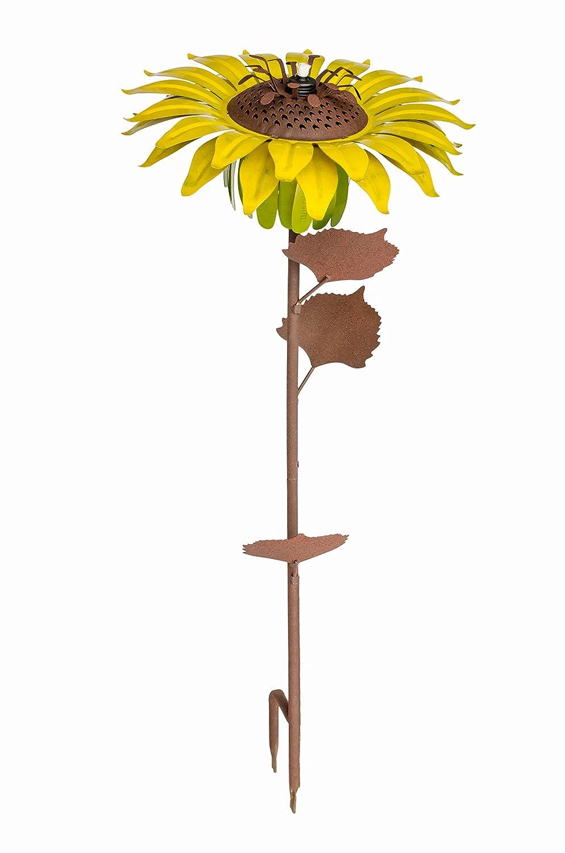 Desert Steel 409-003 Sunflower Garden Torch, 32-Inch