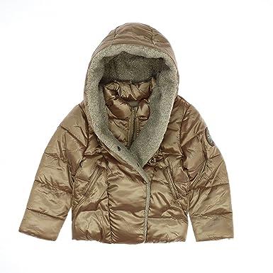 IKKS - Doudoune dorée à capuche - Fille 3 ans  Amazon.fr  Vêtements ... 8895b841a0e