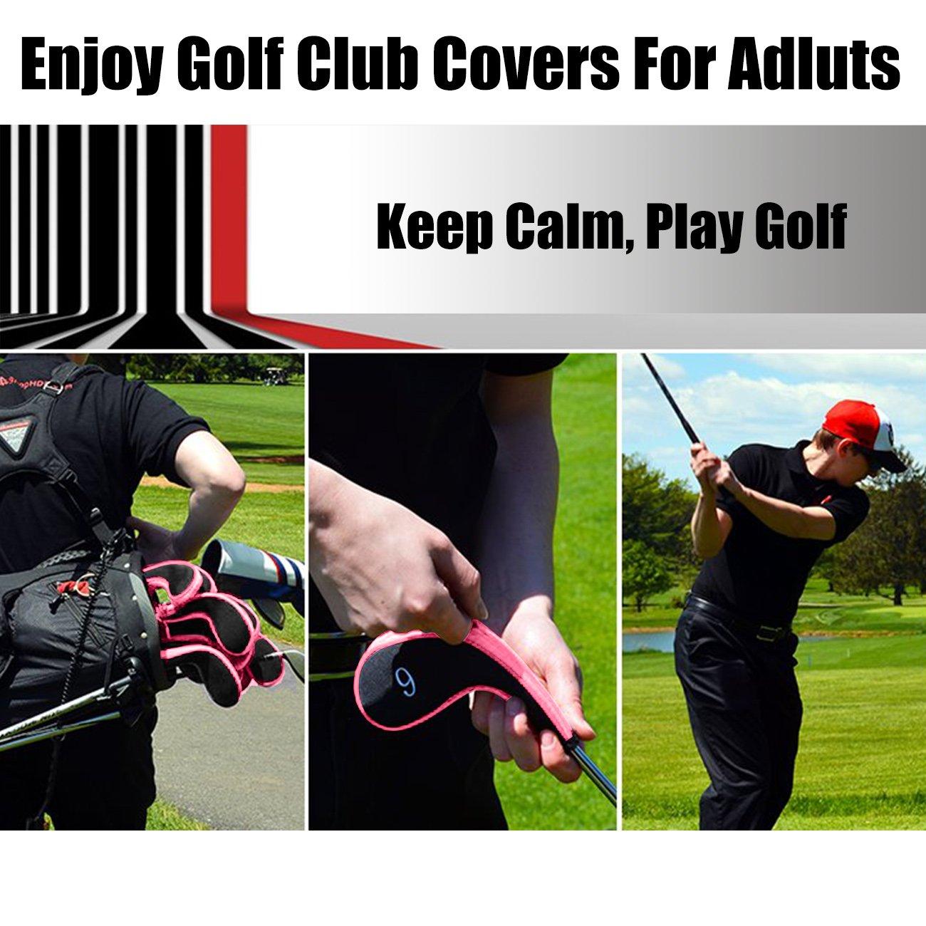 AREE - Juego de fundas para palos de golf, de neopreno, con ...
