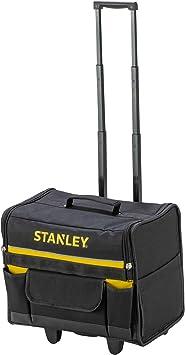 STANLEY 1-97-515 - Bolsa rígida con ruedas, 44.5 x 25.5 x 42 cm: Amazon.es: Bricolaje y herramientas