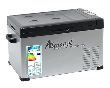 Kühlschrank Für Auto Mit Kompressor : Compass 07094 kühlbox mit kompressor 30l 230 24 12v 20°c grey