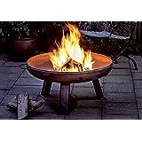 Siena Garden 378798 Feuerschale roh Ø 85cm aus Stahl