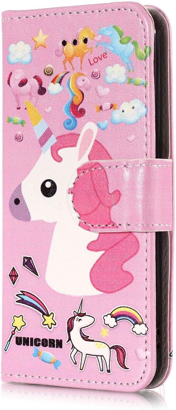 Custodia Impermeabile Caso Di Telefono Colorato Unicorno Iphone X