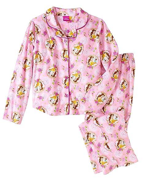 Amazon.com: Niñas Disney bella y la bestia Belle rosa ...