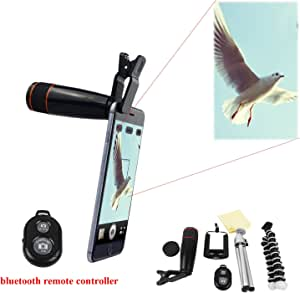 Amazon.com : FLFLK Universal Smartphone 12X Zoom Magnifier ...