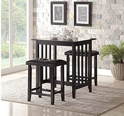 Stylish design furniture Bedroom Furniture High Top Dining Table With Stools Black Color Premium Quality Stylish Design Pinterest Amazoncom High Top Dining Table With Stools Black Color Premium