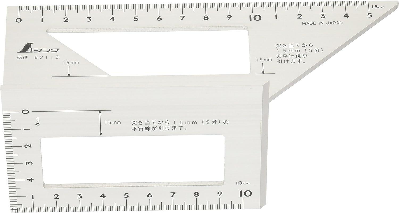Shinwa Japanese Aluminum Saddle Layout Gauge Square 62113 Free Shipping