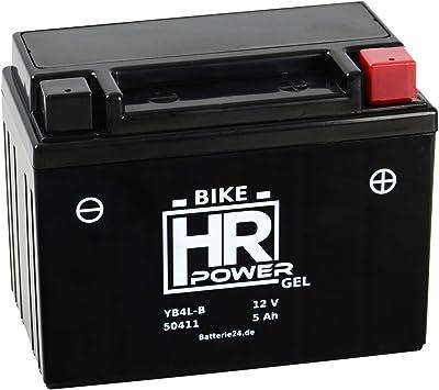 Gel Rollerbatterie Starterbatterie 12v 5ah Yb4l B 50411 Wartungsfrei Sla4l Bs Fb4l B Gm4 3b 6i2p Cb4l B Gb4l B Yt4l B Auto