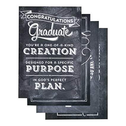 amazon com dayspring graduation chalkboard 12 count with