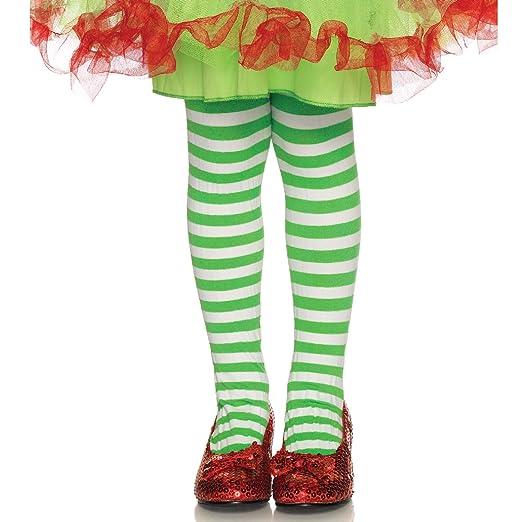 046d7522ce3 Amazon.com  Leg Avenue Children s Striped Tights  Clothing