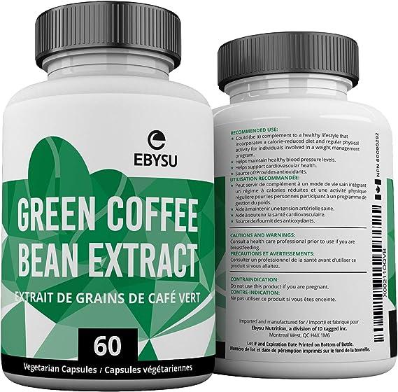 extrait de grain de café vert max