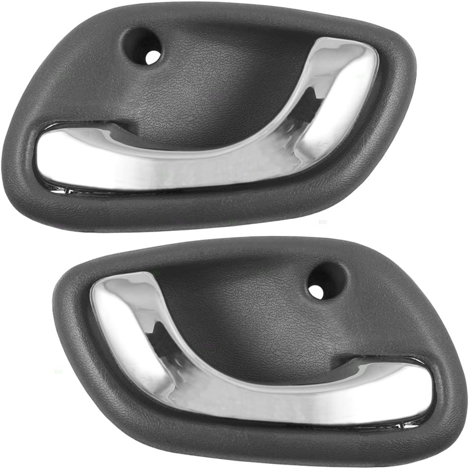 CHEVY CLASSIC OUTSIDE DOOR HANDLES CHROME FRONT  1995 1996 1997 1998 1999 2000