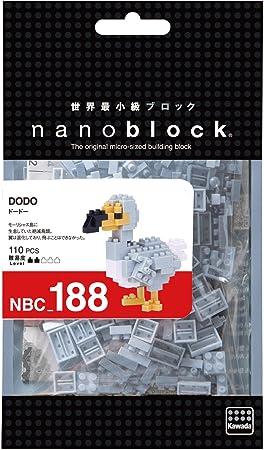 Kawada nanoblock DoDo NBC 188 NBC-188 Building Toys New Japan