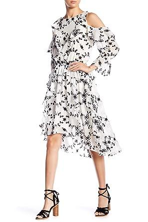 d994f183fed Amazon.com: Joie Alpheus Cold Shoulder Hi-Lo Dress Size M: Clothing