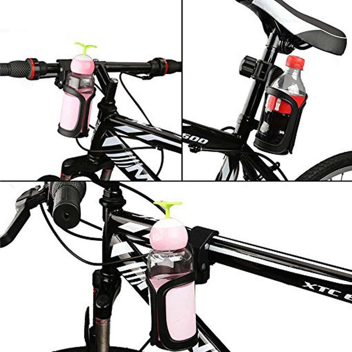 Getr/änkehalter Rollstuhl MHOYI Getr/änkehalter f/ür Babywagen f/ür Baby-Kinderwagen 360 Grad drehbar Kinderwagen Fahrrad-Kinderwagen Getr/änkehalter 2 Packungen
