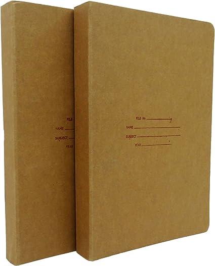 Zebra papel de Kraft reciclado tamaño A4 carpeta de anillas carpeta de archivos – paquetes disponibles, color marrón Pack de 2: Amazon.es: Oficina y papelería