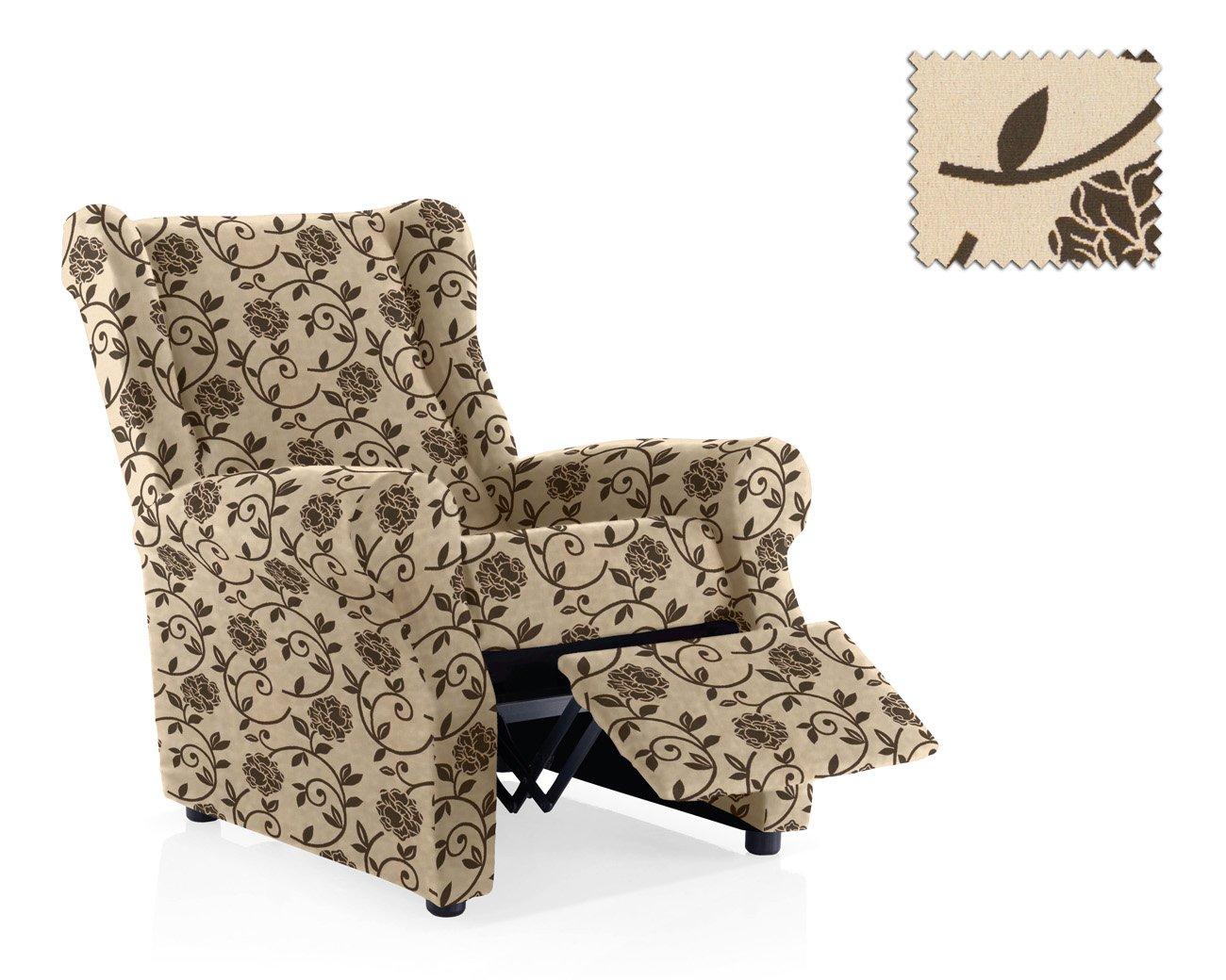 JM Textil Funda sillón Relax Neptuno, Beige, 1 Place Taille ...