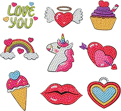 gaixample.org Diamond Painting Kits for Kids,10 Style Princess & 9 ...