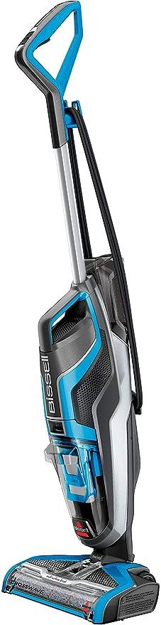 Bissell Crosswave Aspiradora escoba, 510 W, 0.82 litros, 80 Decibelios, plástico, Azul/Negro: Amazon.es: Hogar