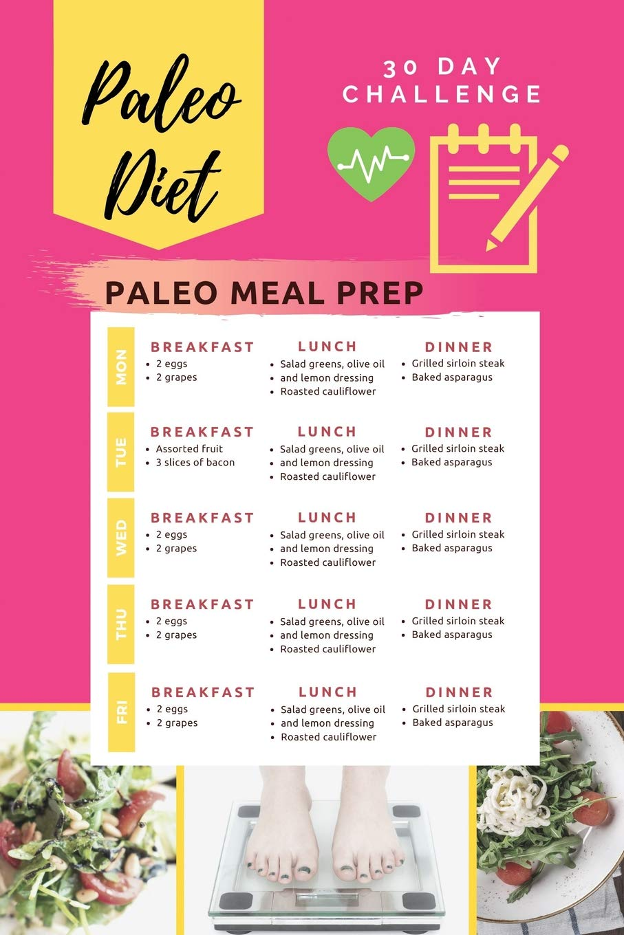 1 day paleo diet meal