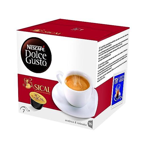 238 opinioni per NESCAFÉ DOLCE GUSTO SICAL Caffè espresso 3 confezioni da 16 capsule (48 capsule)